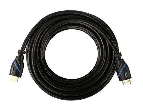C&E CNE67958 High Speed HDMI Cable (30') with Ethernet CL3 Certified Supports 3D and Audio Return Channel