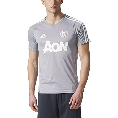 (adidas Men's Manchester United Short Sleeve Training Jersey (Large))
