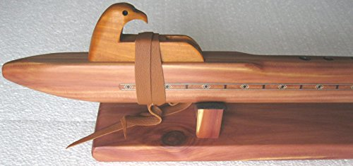 Native American Flute - Key of F - Handmade - Aromatic Cedar - Concert/professional level - awesome sound