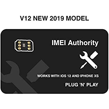 IA Sim Unlock Adapter compatible with iPhone X 8+ 8 7+ 7 6S+ 6S 6 5C 5S - Any Carrier - at&T, Verizon, Sprint, T-Mobile, XFINITY, GSM or CDMA GPP Turbo ...