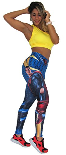 Superheroes Activewear Leggings Woman Compression Pants Yoga Tights No Brand]()
