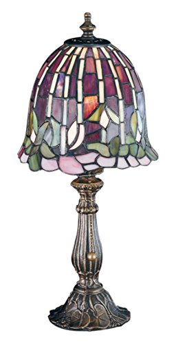 "Meyda Tiffany 26647 Flowering Lotus Accent Lamp, 16"" H from Meyda Tiffany"
