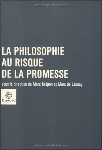 Livres La Philosophie au risque de la promesse pdf ebook