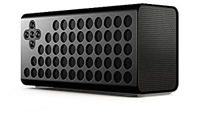Urge Basics Cuatro Powerful 4.0 Bluetooth Portable Wireless Speaker with Bass+ Technology - Includes Carrying Case and Charging Cable; Compatible with Smartphones, Tablets and Mp3 Players with Bluetooth Capability