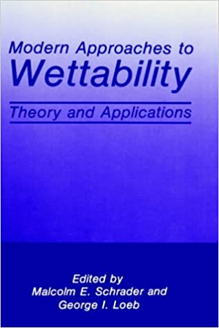 Modern Approaches to Wettability: Theory and Applications