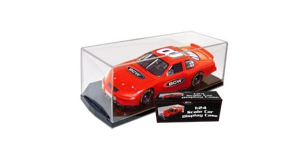 Amazon.com: (4) BCW escala 1/24 die cast Car Display Case ...