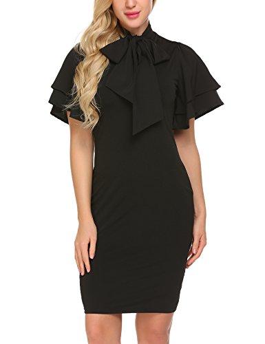 SE MIU Women Wear To Work Business Party Bodycon One-Piece Dress