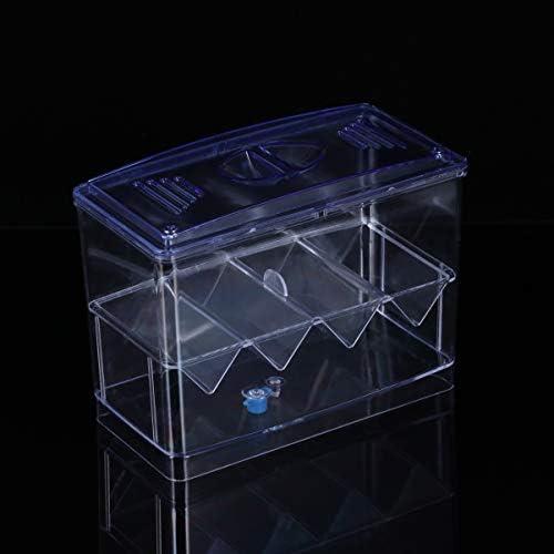 POPETPOP Caja de Cría de Peces de Acuario Incubación de Peces Caseros 7