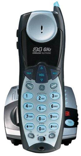 GE 27990GE3 2.4 GHz Analog Cordless Phone with - Ge Digital Cordless Phone