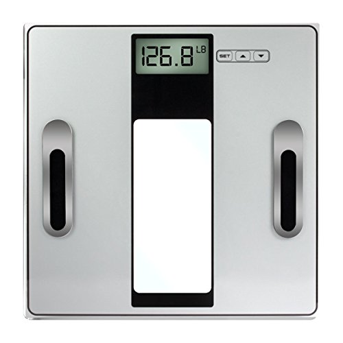 - Vivitar Digital Body Analysis Bathroom Scale, Silver, 3.93 Pound