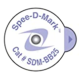 #5: Spee-D-Mark SDM-BB25 Mammography Skin Marker Nipple Radiopaque, 2.5 mm Size (Box of 100)