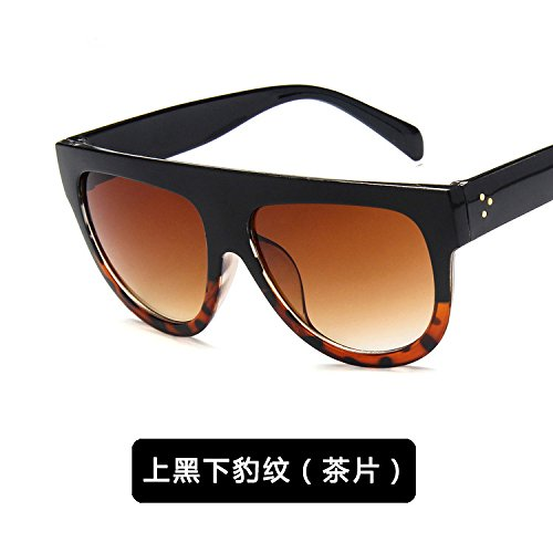 2 C Las Ultravioleta De Sol Gafas c zhenghao Sunglasses Leopard Antique Xue Personalidad Anti 1 7tHWPqS1H