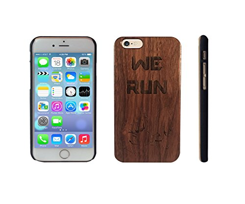We Run LA on Walnut Wood for iPhone 6 - Hollywood Walnut