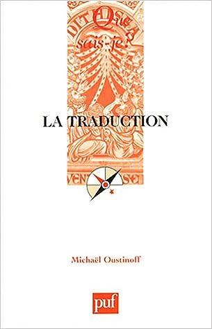 Livre gratuits en ligne La Traduction epub, pdf