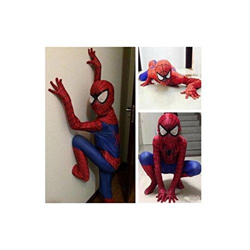 Christmas Party Boy Spiderman Costume Kids Superhero Cosplay Bodysuit Children (Spiderman Bodysuit Costumes)