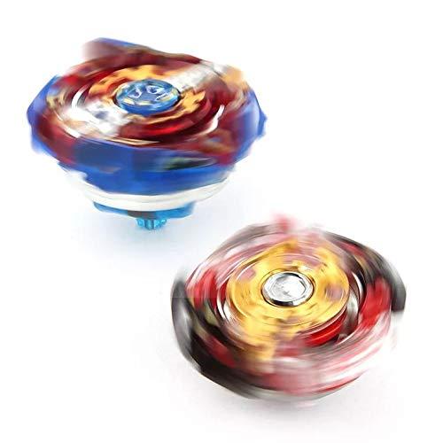 - Juguetes Educativos Divertidos HHUAN Beyblade Burst Starter Set Gyro 8 Peonzas + 3 Lanzador 8Set-0614-15 Voladura Giroscopio Combat Spinning Launcher