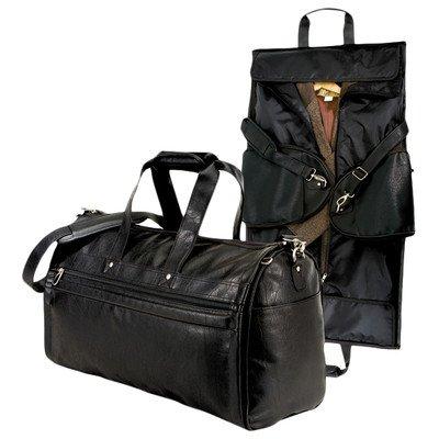 us-traveler-koskin-leather-2-in-1-carry-on-garment-duffel-bag-black