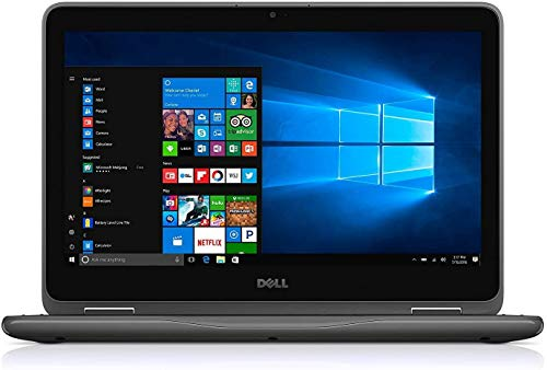 Dell Latitude Touch 3190 2-in-1 PC Intel Quad Core up to 2.4Ghz 4GB 64GB SSD 11.6inch HD Touch Gorilla Glass LED WiFi Cam HDMI W10 Pro (Renewed)