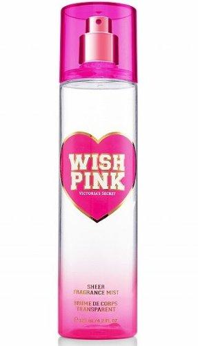 Victoria's Secret Wish Pink Sheer Fragrance Mist 125ml / 4.2 Fl - Pink Wish