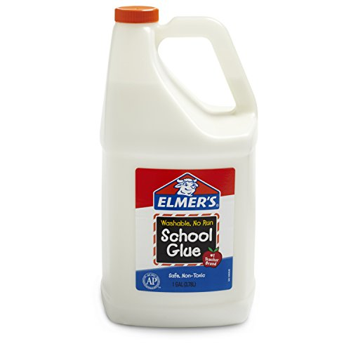 Elmer's Liquid School Glue, Washable, 1 Gallon, 1 Count