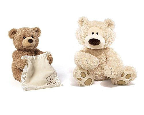 GUND Peek-a-Boo Teddy Bear Animated Stuffed Animal with P...