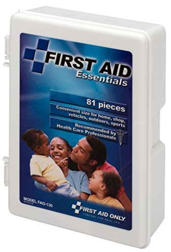 First Aid Only All-purpose First Aid Kit, 81-Piece Kit (Pack of 3) by First Aid Only (Image #1)