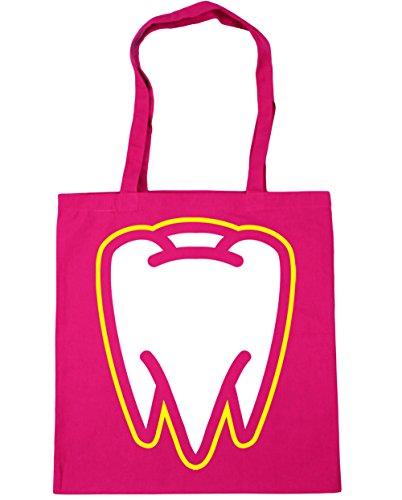 Fuchsia litres 10 Gym Shopping 42cm Bag Tooth HippoWarehouse Beach Tote x38cm Pp1wfFqv