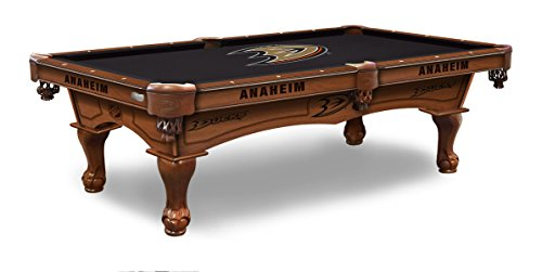 Holland Bar Stool Co. Anaheim Ducks 8' Logo Pool Table