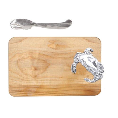 Mariposa Crab-Handled Cheese Board & Lobster Set