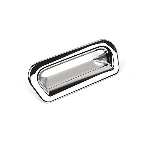 (KUST Mw5125w Tailgate Handle Cover, Chrome Door Handle Covers fit for Honda 2015 2016 CRV, Pack of 1 Pieces of Chrome Rear Door Handle Protector)