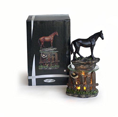 Indian Handicrafts Oil Burner and Tealight Holder (Horse Tea)