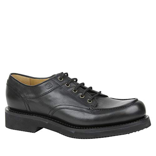 Gucci Lace up Black Leather Oxford Shoes with Platform 352954 1000 (11 G / 12 ()