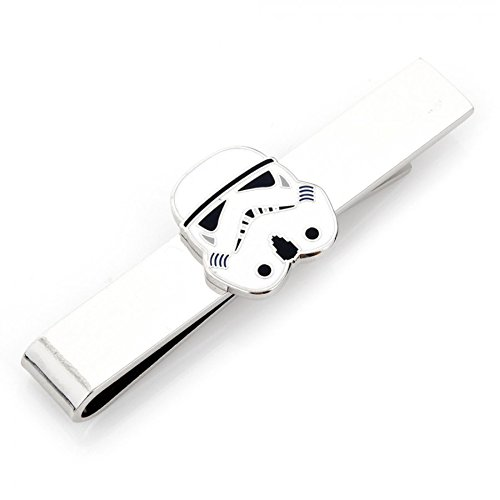 Cufflinks Star Wars Storm trooper Head Tie Bar (Head Sterling Silver Cufflinks)