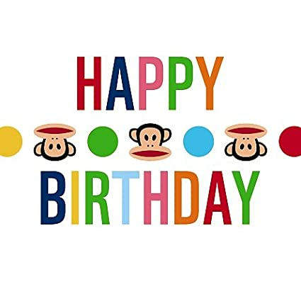 Tarjeta - feliz cumpleaños - de felicitación Paul Frank ...