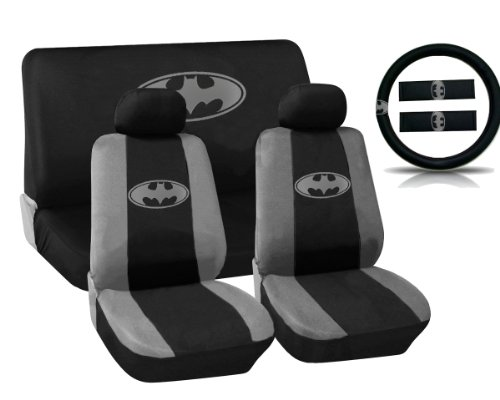 batman front seat covers for cars - 4