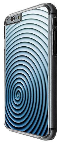 1081 - Cool Fun Maze Look Print Design For iphone 6 6S 4.7'' Fashion Trend CASE Back COVER Plastic&Thin Metal -Clear