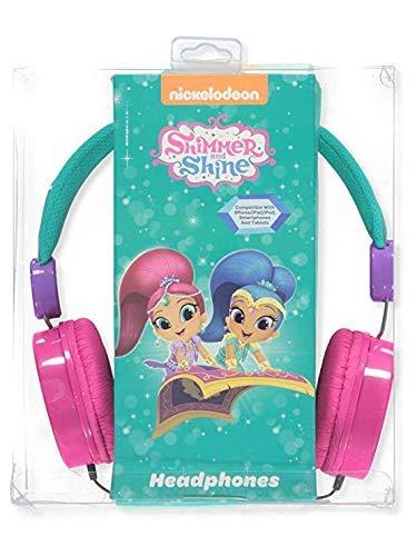 Sakar International HP1-01369 Shimmer & Shine Headphone for Kids - Friendly Safe