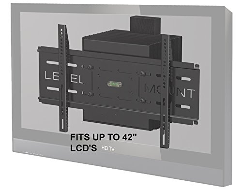 Level mount articulating motorized tv wall mount for 26 to for Motorized tv wall mount reviews