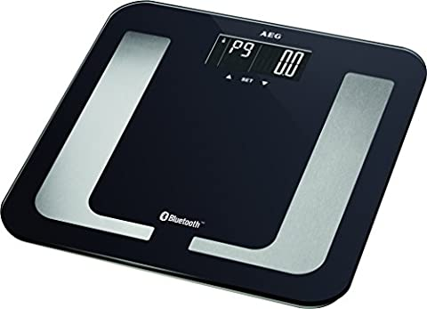 AEG 8in1 Diagnostic scale with Bluetooth und App PW 5653 BT (black) (Bt Diagnostic)