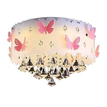COCOL&Luz de techo de cristal de gama alta Mariposa ...