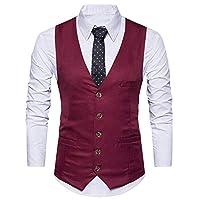 REBAV Men's Trendy & Stylish Waistcoat Ethnic Jacket for All Occasions