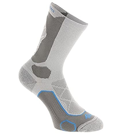 90ece078bef0e QUECHUA FORCLAZ 500 HIGH-TOP ADULT HIKING SOCKS 2 PAIRS - COMET GREY (EU 35-38):  Amazon.in: Sports, Fitness & Outdoors