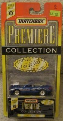 Matchbox - Premiere Collection - World Class Series 9 - BLUE FORD PROBE - Limited Edition (25,000) Replica