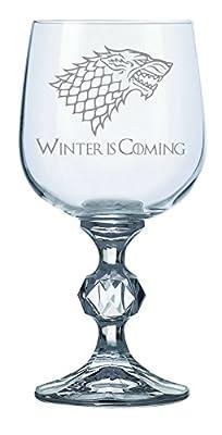 House Stark Game of Thrones Inspired 11oz Wine Goblet