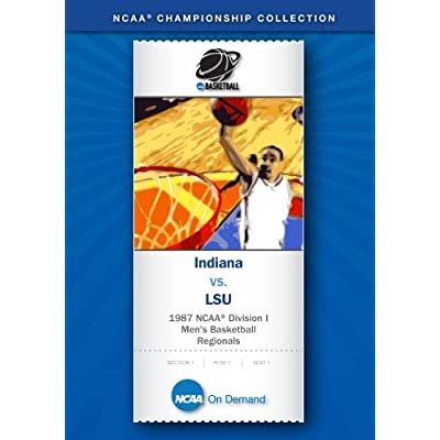 1987 NCAA(r) Division I  Men's Basketball Regionals - Indiana vs. LSU: Movies & TV