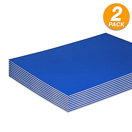 Blue Poster Board - Foam Boards Lightweight Sign Blank Foam
