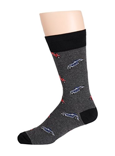 H3NDRIX Expedition Edition Socks (Classic Mobile Cars) Men's 8-14 (Car 1006)