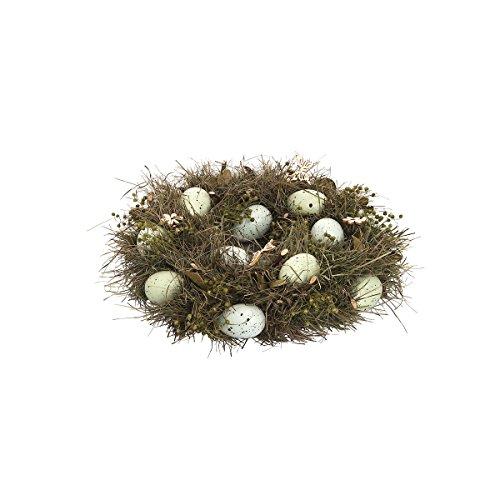 (GALLERIE II Robins Egg Easter Spring Wreath Decor)