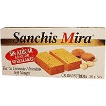 Sanchis Mira Sugar Free Turron de Jijona 7 oz Just arrived from Spain