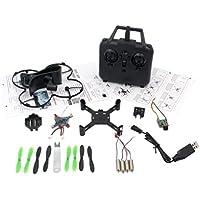 Gotd DIY Assembly 2.4G 4CH 6-Axis Gyro UAV RC Aircraft Wifi Camera Quadcopter Drone